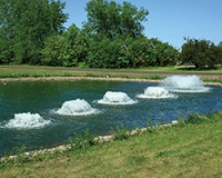 аэраторы для промышленных прудов